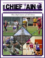 Chieftain Issue 1 - Sewanhaka Central High School District