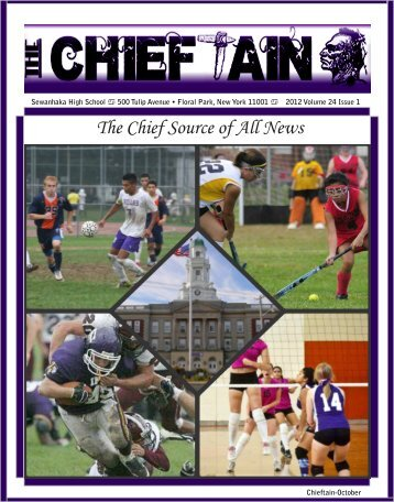 Chieftain Issue 1 - Sewanhaka Central High School District