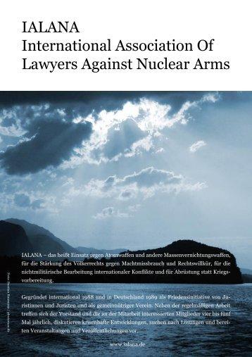 IALANA International Association Of Lawyers Against Nuclear Arms