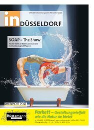 Düsseldorfs offizielles Monatsprogramm