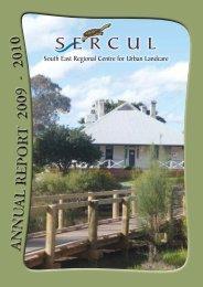 2009-2010 Annual Report - SERCUL