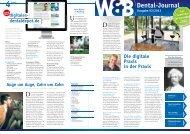 Dental-Journal inkl. Seminar - Digitales Dentaldepot
