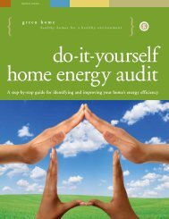 Do-it-yourself home energy audit - King County