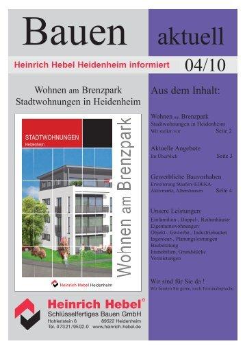 Wohnen am Brenzpark - Heinrich Hebel Wohn