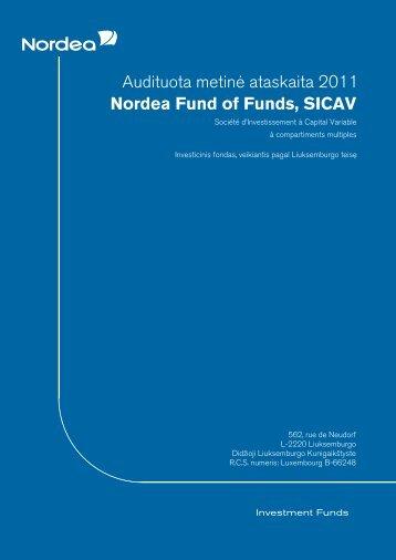 Metinė ataskaita - Nordea Bank Lietuva
