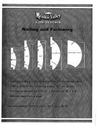 Log Siding Nailing and Fastening Diagram - Meadow Valley Log ...
