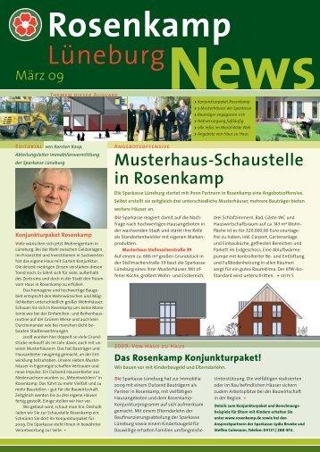 Musterhaus-Schaustelle in Rosenkamp