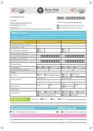 Account Opening Form - Meezan Bank