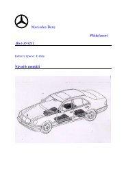 Koberce ripsové E-třída_B6 6 35 9211.pdf - Mercedes-Benz