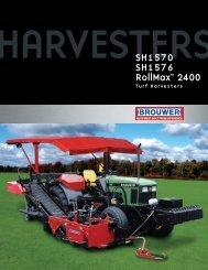 Brouwer SH1570 Turf Harvester - Vanmac.nl