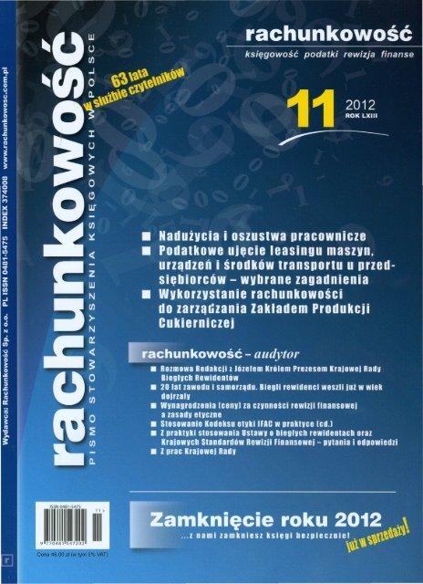 Spis treści 11/2012