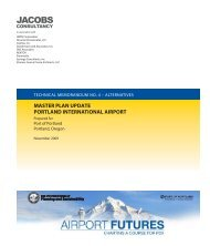 Tech Memo 4 - PDX Airport Futures