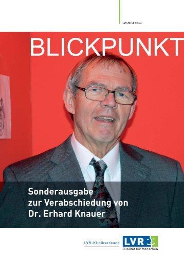 Sonderausgabe zur Verabschiedung von Dr. Erhard Knauer
