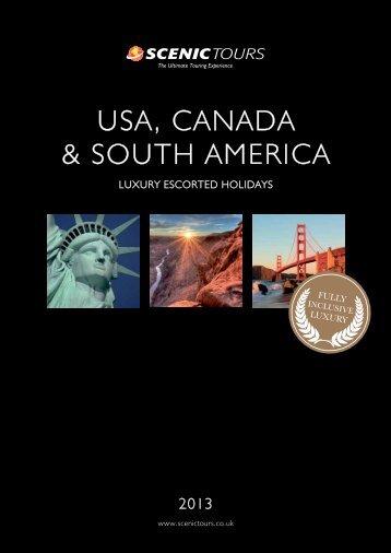 USA, CANADA & SOUTH AMERICA - Scenic Tours