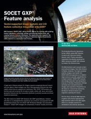 SOCET GXP® Feature analysis - BAE Systems GXP Geospatial ...