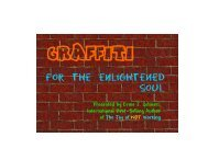 Graffiti for the Enlightened Soul - The Real Success Resource Center