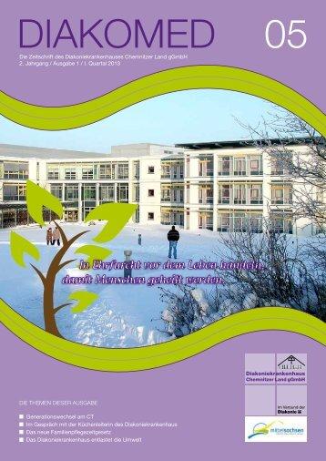 1. Quartal 2013 - Diakoniekrankenhaus Chemnitzer Land