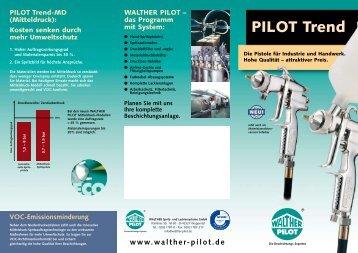 Flyer PILOT Trend - Walther Pilot