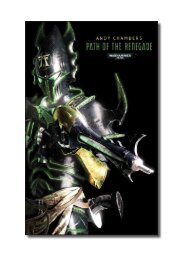 Path of the Renegade - The Black Library