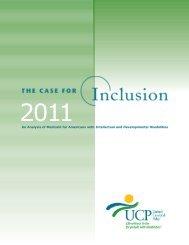 inclusion Report - UCP - United Cerebral Palsy