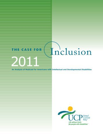 inclusion Report - UCP - United Cerebral Palsy