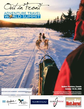 Québec Province, Canada October 19-22, 2009 - Adventure Travel ...