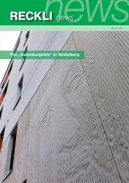 RECKLI news - RECKLI GmbH: Home