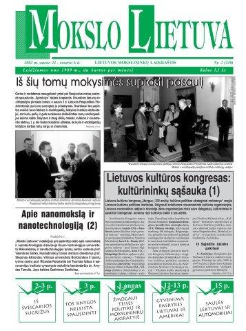 Iš šių tomų mokysimės suprasti pasaulį Lietuvos ... - MOKSLAS plius