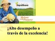 Sr. Elias Suazo - Grupo Agrolibano - Honduras