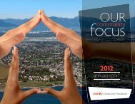 2012 Annual Report - Vancity Community Foundation