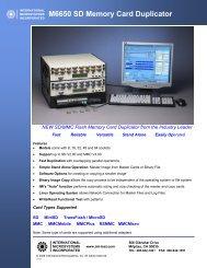 M6650 SD Memory Card Duplicator