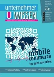 unternehmer WISSEN: m-commerce - Los geht ... - Unternehmer.de