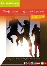 Séjours linguistiques - Verdié Voyages
