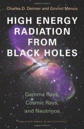 High Energy Radiation from Black Holes: Gamma Rays, Cosmic ...