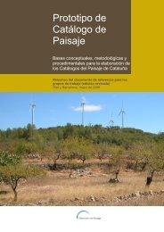 Resumen del Prototipo de Catálogo de Paisaje - Universidad ...