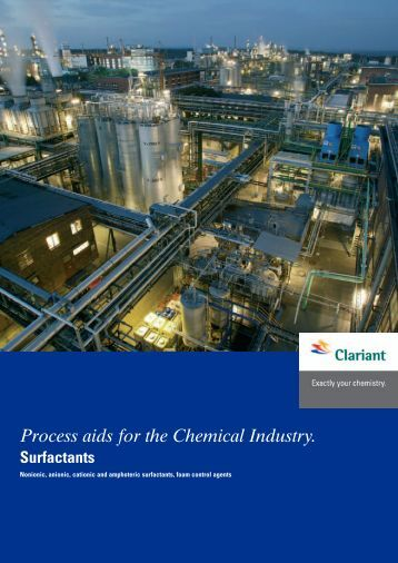 Process aids for the Chemical Industry. - Industrial Lubricants ...