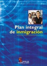 Plan Integral de Inmigración en Castilla y León 2005 - 2009