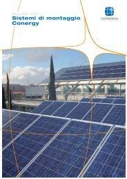 Sistemi di montaggio Conergy - Solarway srl