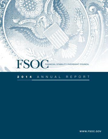 FSOC 2014 Annual Report