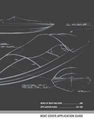 boat cover application guide 261 - Attwood