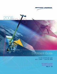 2005-2006 Annual Enrollment Guide - Benefits Online