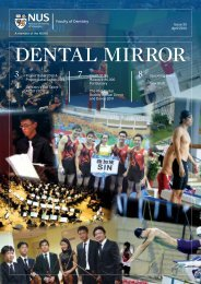 Dental Mirror Issue 25 - Faculty of Dentistry