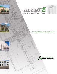 accel-E Wall Panel System Brochure - Reed Construction Data