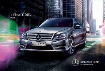 La Classe C 2013 - Mercedes-Benz Canada