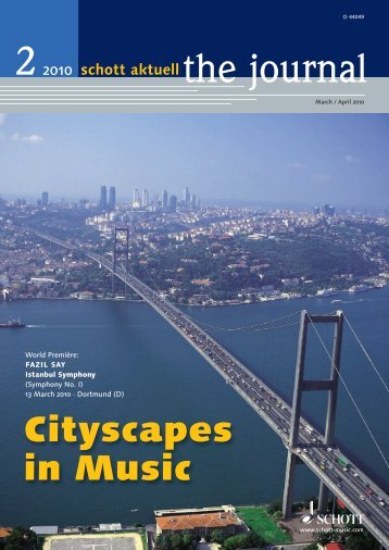 Cityscapes in Music - Schott Music
