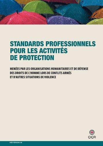Standards professionnels pour les activités de protection - Global ...