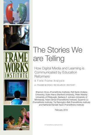 The Stories We Are Telling - Frameworks Institute