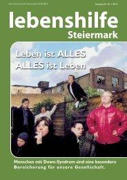 Nr. 1/2013 - Lebenshilfe Steiermark