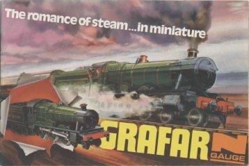 Graham Farish 1973 Catalogue