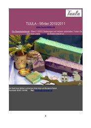 TUULA - Winter 2010/2011
